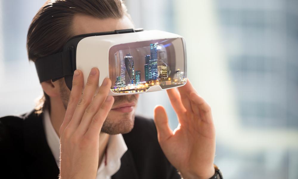 משקפיים של מציאות מדומה