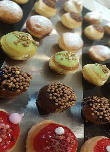 סדנה פסטיבל סופגניות בוטיק, התוצר הסופי מגוון של סופגניות